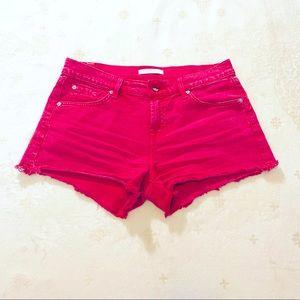 7 For All Mankind denim cutoff shorts